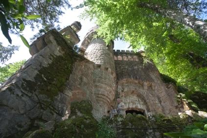 Tuin van Palacio y Quinta da Regaleira